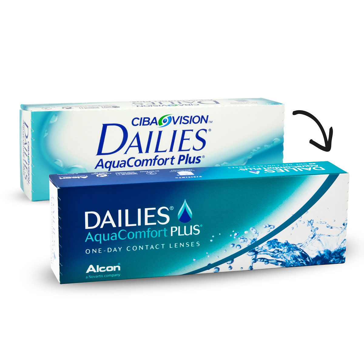 DAILIES AquaComfort Plus คอนแทคเลนส์รายวัน แพค 15 คู่ / 30 ชิ้น