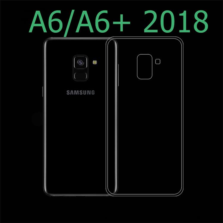 (436-475)เคสโทรศัพท์มือถือซัมซุง Case A6+/Plus 2018 เคสนิ่มใสยอดฮิต