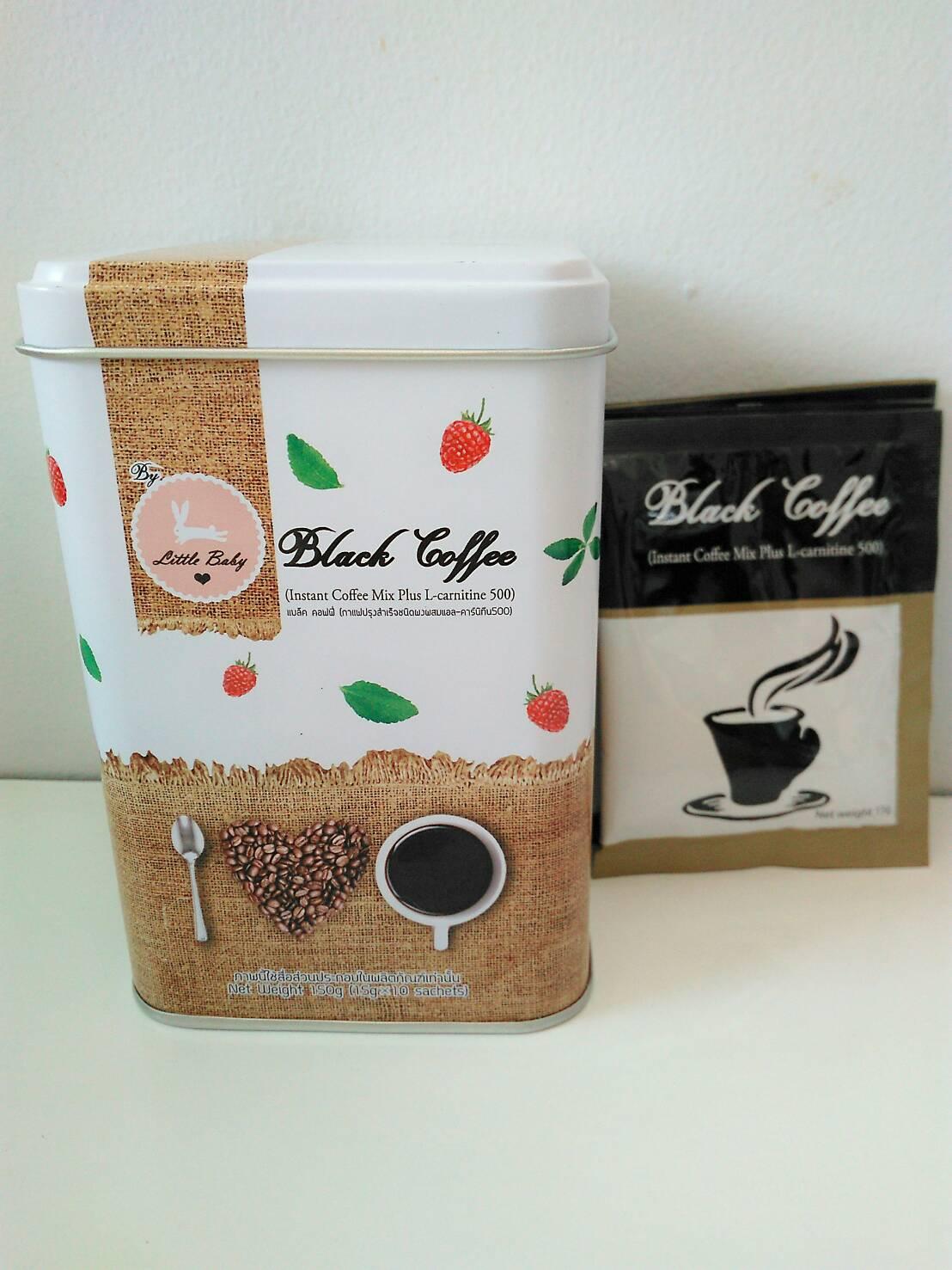 Black Coffee กาแฟดำสูตรหญ้าหวาน By Little Baby