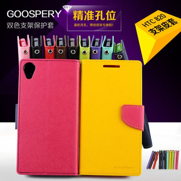 (007-013)เคสมือถือ HTC Desire 820 เคสนิ่ม GOOSPERY NEW Fancy Diary Case
