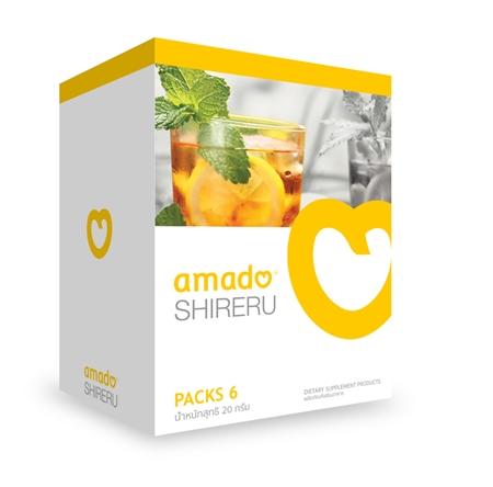 Amado Shireru อมาโด้ ชิเรรุ เครื่องดื่มชนิดชงดื่มรสชามะนาว ชามะนาวกินแล้วผอม