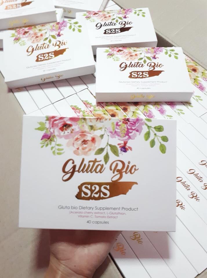 Gluta BIO By S2S กลูต้าไบโอ เอสทูเอส บรรจุ 40 เม็ด
