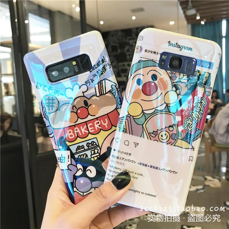 (742-009)เคสโทรศัพท์มือถือซัมซุง Case Samsung S9+ เคสนิ่มบลูเรย์อันปังแมน