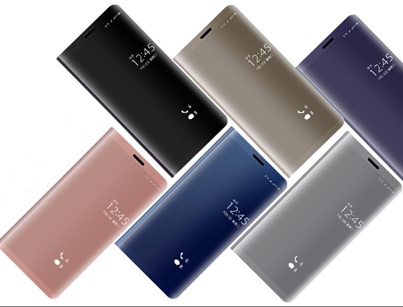 (535-031)เคสโทรศัพท์มือถือหัวเว่ย Case Huawei P9Lite/G9Lite เคสฝาพับ Clear View Cover