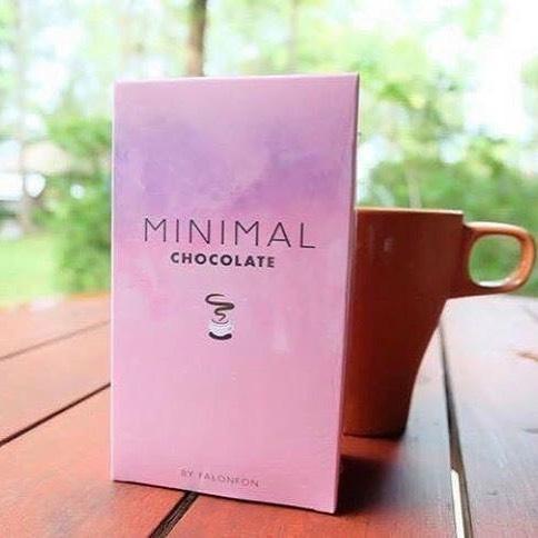 Minimal Chocolate by falonfon มินิมอล โกโก้ลดน้ำหนัก บรรจุ 10 ซอง