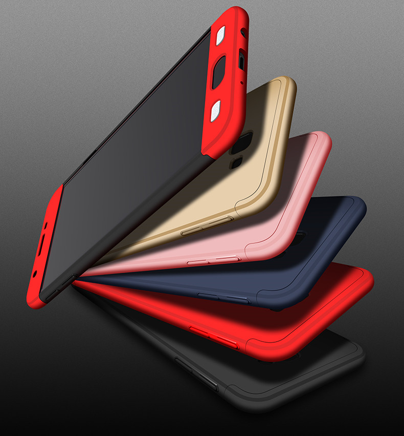 (025-694)เคสมือถือซัมซุง Case Samsung J7 Prime/On7(2016) เคสคลุมรอบป้องกันขอบด้านบนและด้านล่างสีสันสดใส