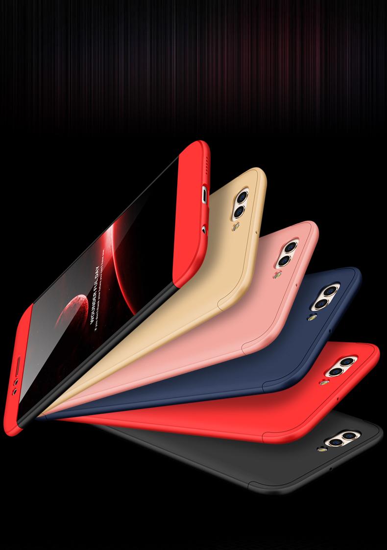 (025-910)เคสมือถือ Case Huawei Nova 2 เคสคลุมรอบป้องกันขอบด้านบนและด้านล่างสีสันสดใส