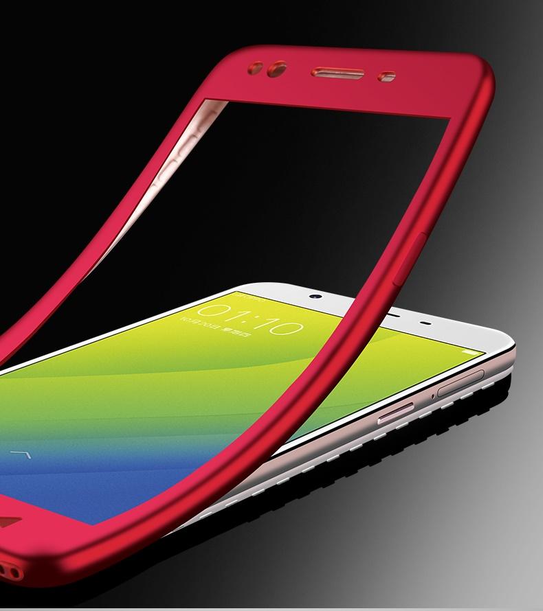 (763-003)เคสโทรศัพท์มือถือ Case OPPO A59/A59s/F1s เคสนิ่มกันกระแทก 360