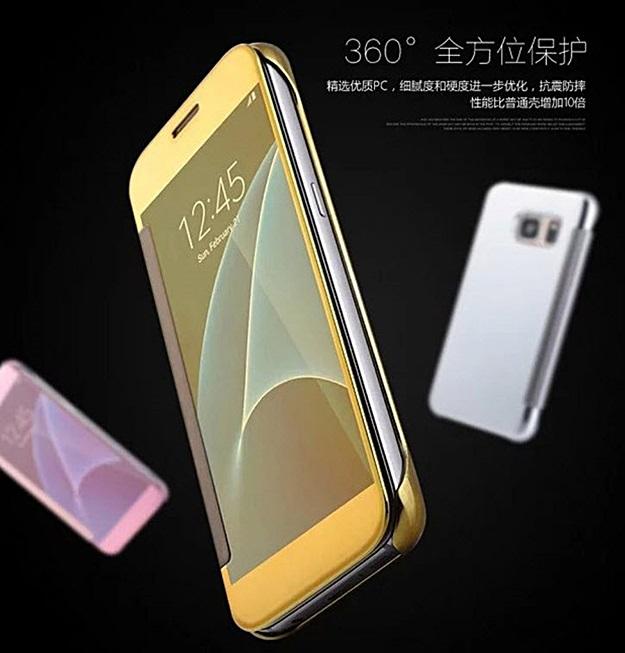 (390-033)เคสมือถือซัมซุง Case Samsung A3 (2016) เคสพลาสติกกึ่งโปร่งใส Clear View Cover