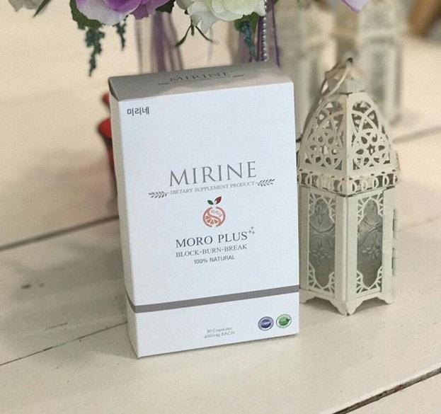 MIRINE MORO Plus มิริเน่ โมโร่ พลัส บรรจุ 30 แคปซูล