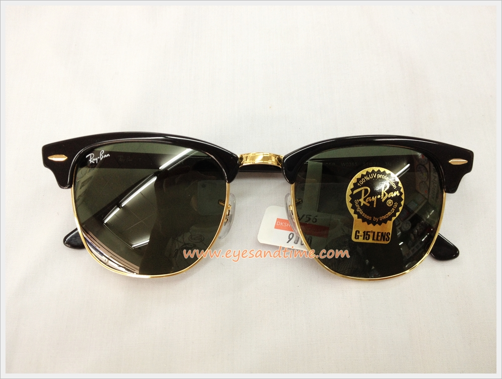 RayBan Clubmaster RB3016 W0365 (size 51mm.)