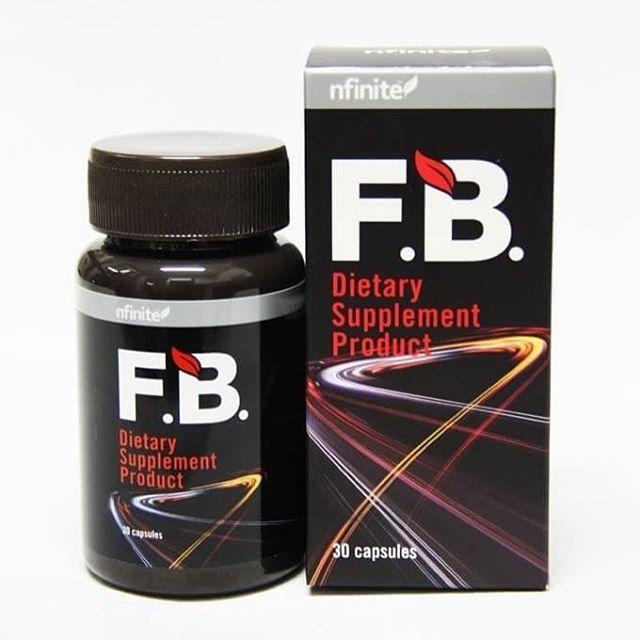 F.B. Fat burn อาหารเสริมช่วยเผาผลาญไขมัน ลดไขมันหน้าท้องกระชับสัดส่วน(ส่งฟรี EMS)