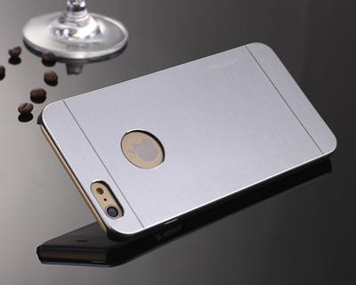 (พร้อมส่ง)เคสมือถือไอโฟน case iphone 6 Plus เคส METAL motomo
