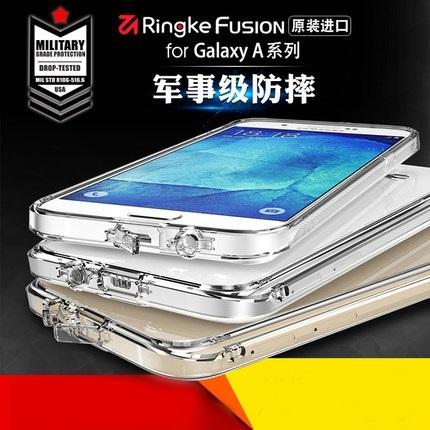 (643-007)เคสมือถือซัมซุง Case Samsung A7 2017 เคสนิ่มใสกันกระแทกสุดฮิต RingKe