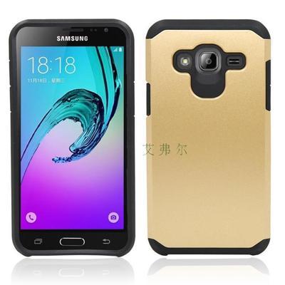 (002-188)เคสมือถือซัมซุง Case Samsung J3 2016 เคสกันกระแทกขอบสี