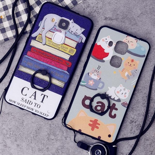 (025-402)เคสมือถือ Case Huawei G9 Plus เคสลายการ์ตูนกราฟฟิคน่ารักๆ