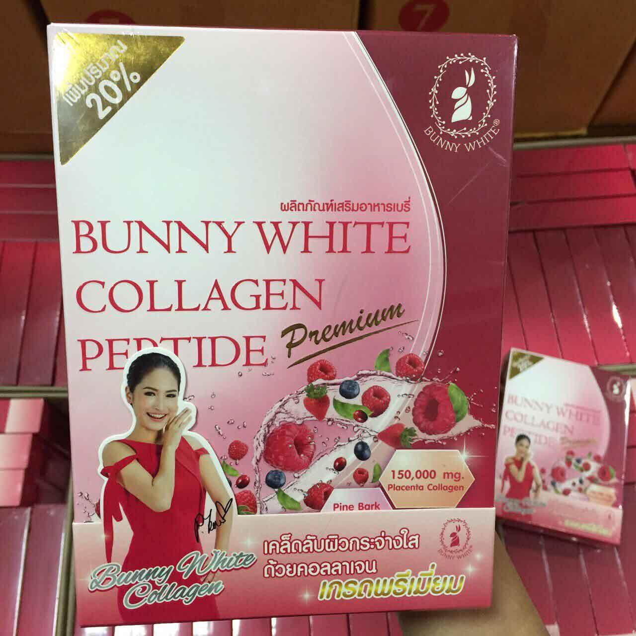Bunny White Collagen 150,000mg. บันนี่ไวท์ คอลลาเจน แพ็คเกจใหม่