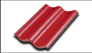 กระเบื้องคอนกรีตแม็กม่า สีแดงกัลปังหา SCG