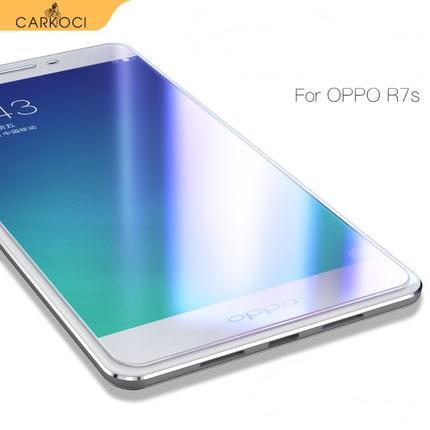 (039-112)ฟิล์มกระจก Oppo R7 นิรภัยเมมเบรนกันรอยขูดขีดกันน้ำกันรอยนิ้วมือ 9H HD 2.5D