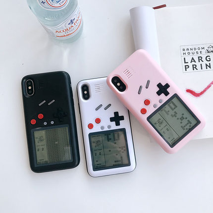 (772-001)เคสโทรศัพท์มือถือไอโฟน Case iPhone X เคสเกมส์เตอร์ติส