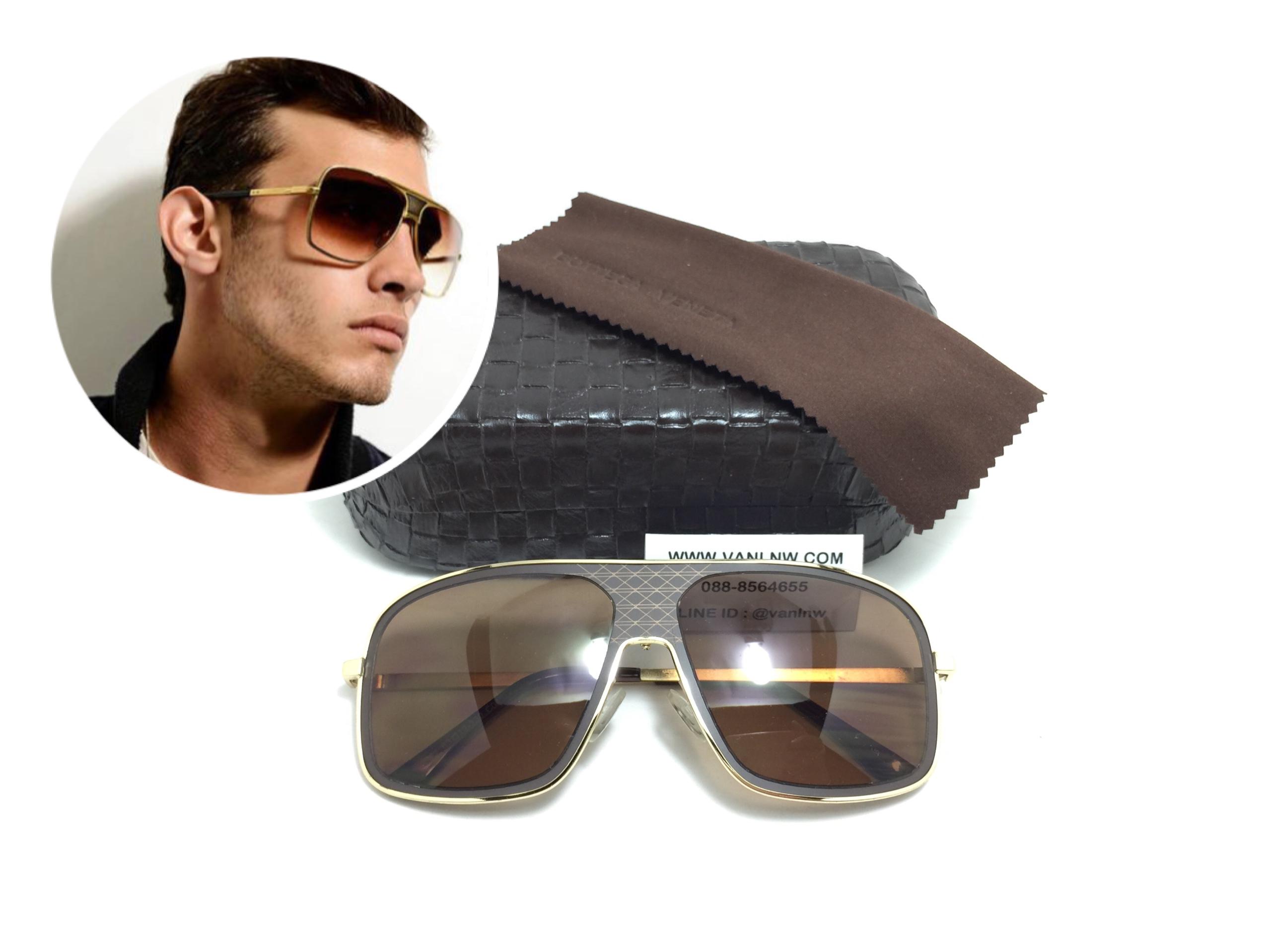แว่นกันแดดแฟชั่น S511 63-12 130 C04 <ชา>