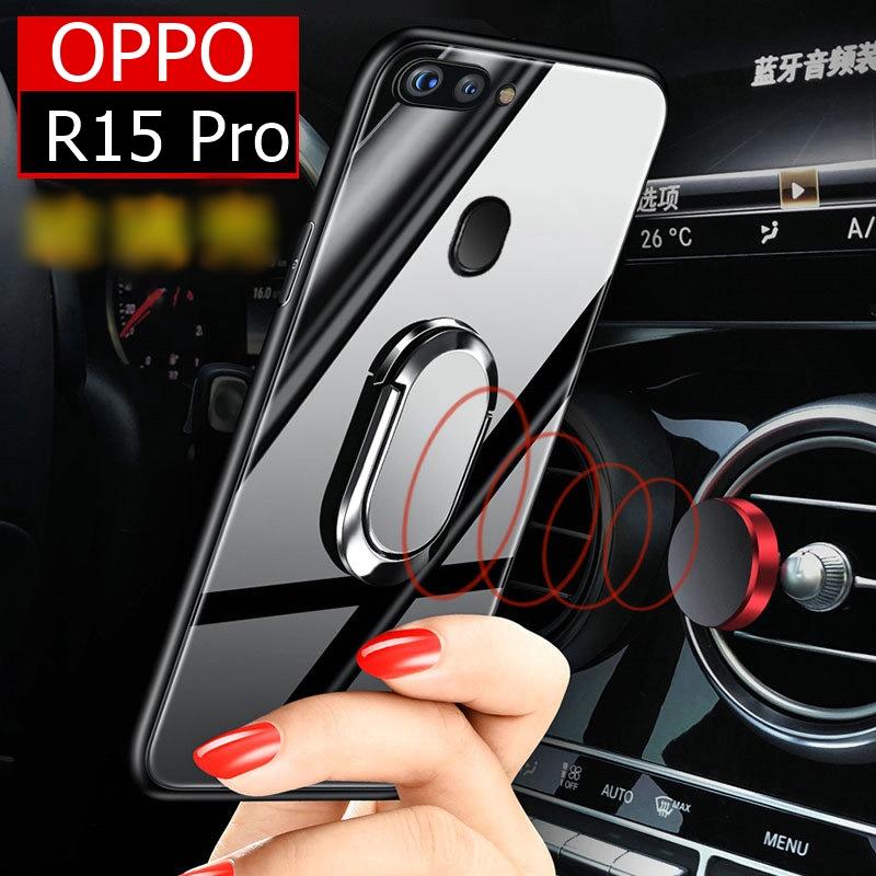 (026-011)เคสโทรศัพท์มือถือ Case OPPO R15 Pro เคสนิ่มขาตั้งแฟชั่นคลาสสิค