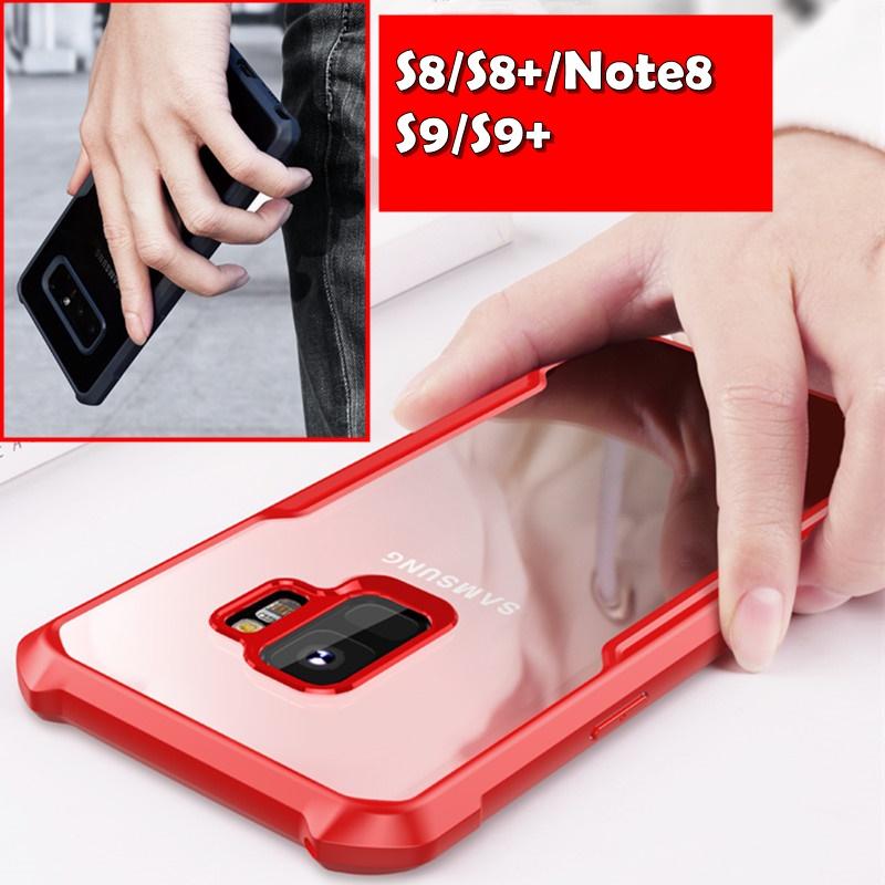 (705-007)เคสมือถือซัมซุง Case Samsung S9 เคสยางกันกระแทกสวยใสเบาอึดถึกทนยอดฮิต