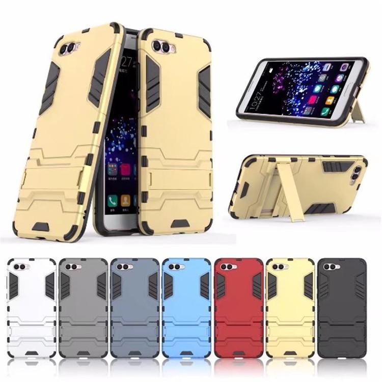 (436-356)เคสมือถือ Case Huawei Nova 2s เคสนิ่มเกราะพลาสติกขาตั้งสไตล์ IronMan