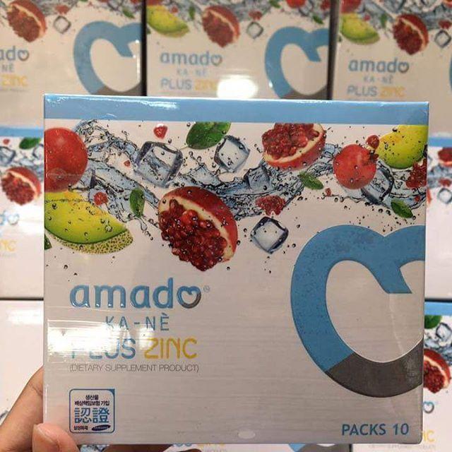 อมาโด้ กาเน่ Amado KA-NE กลูต้าฟู่แล้วขาว โฉมใหม่! อัดแน่นคุณภาพผิวกระจ่างใส พร้อมช่วยลดสิว ในกล่องเดียว