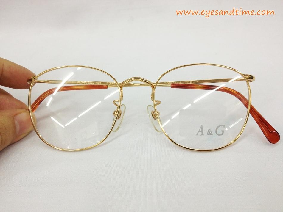 Algha England AG-110 ทรงหยดน้ำ ออกสี่เหลี่ยมนิด ๆ ทองแท้ 22 KGP