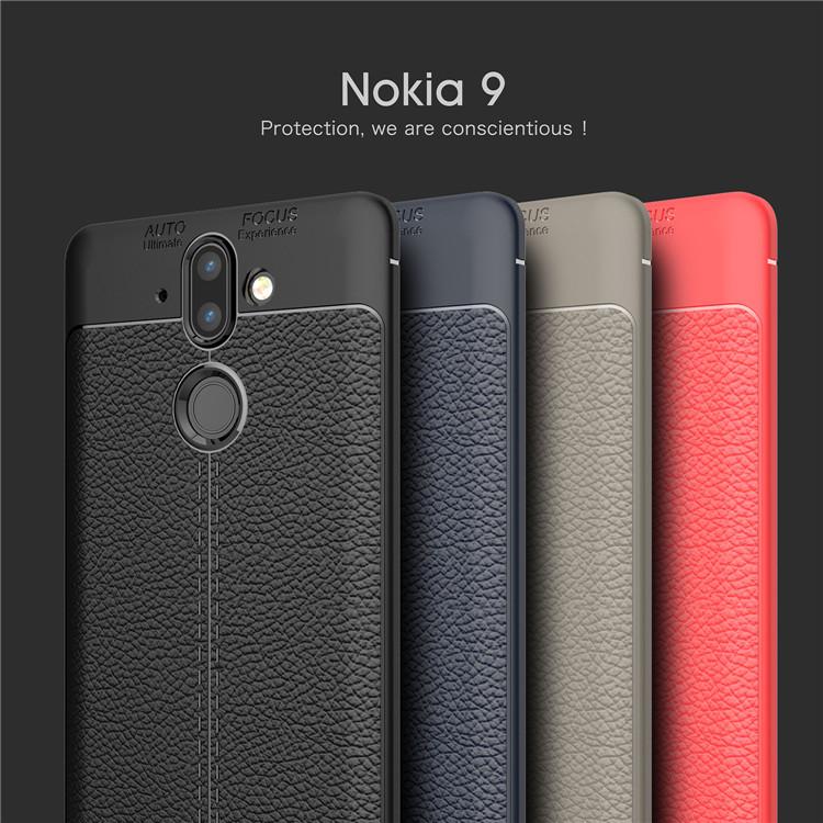 (436-268)เคสมือถือ Nokia 9 เคสนิ่มลายหนังแฟชั่นสวยๆ