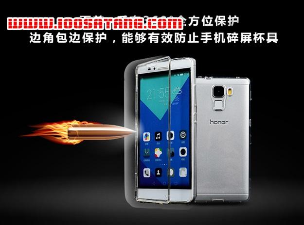 (395-031)เคสมือถือ Case Huawei Honor 7 เคสนิ่มใสสไตล์ฝาพับรุ่นพิเศษกันกระแทกกันรอยขีดข่วน