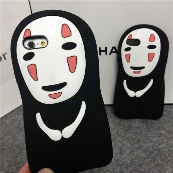 (536-002)เคสมือถือไอโฟน Case iPhone 6/6S เคสนิ่มหน้าผี