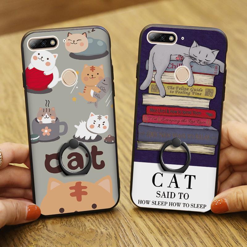 (025-1183)เคสโทรศัพท์มือถือหัวเว่ย Case Huawei Nova 2 lite เคสขอบนิ่มพื้นหลังพลาสติกลาย 3D สวยๆ