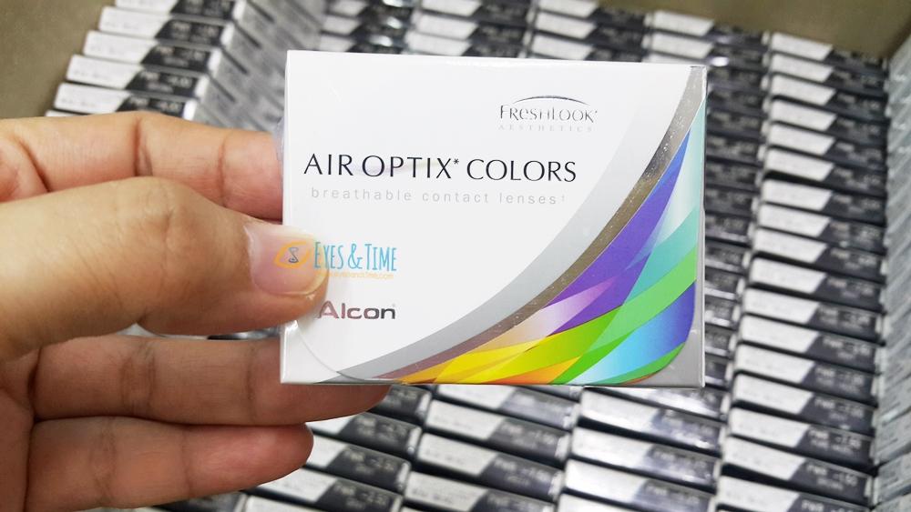 ใหม่ล่าสุด!! คอนแทคเลนส์สี รายเดือน Air Optix Colors ( FreshLook ใช้วัสดุ Air Optix) 2กล่องเหลือ 650 บาท/กล่อง