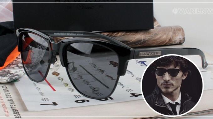 แว่นกันแดด HAWKERS DIAMOND ALL BLACK CLASSIC <ดำ>