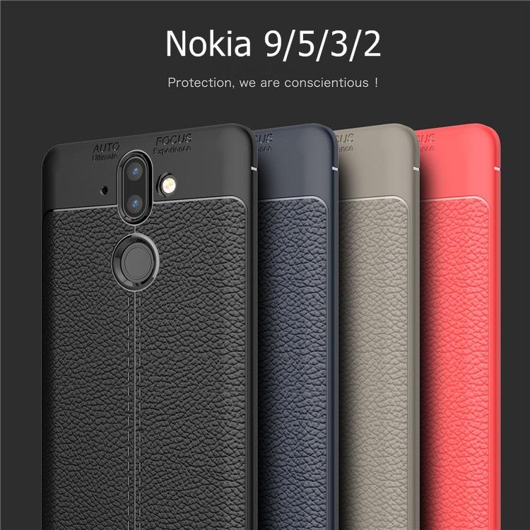 (436-271)เคสมือถือ Nokia 2 เคสนิ่มลายหนังแฟชั่นสวยๆ