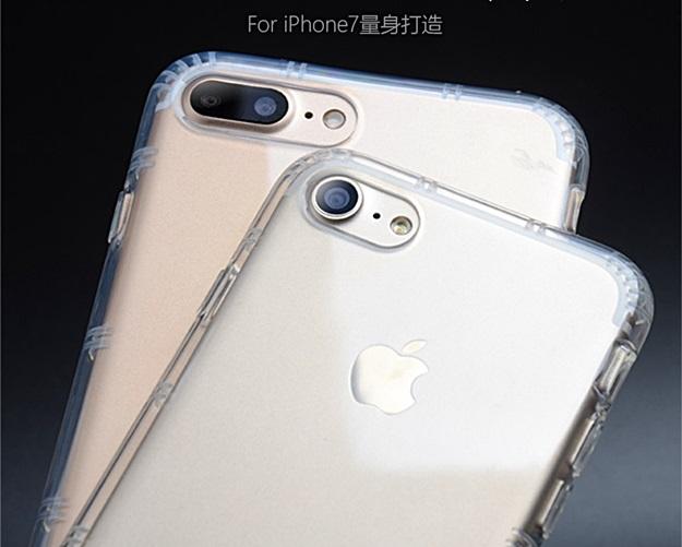 (436-144)เคสมือถือไอโฟน Case iPhone 7 Plus เคสนิ่มใสขอบกันกระแทก Airpillow