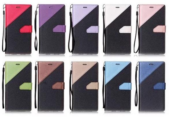 (436-508)เคสมือถือ Case LG Stylus 3 เคสสมุดเปิดข้างทูโทนแฟชั่นสวยๆ