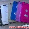 (369-003)เคสมือถือ Case Huawei Ascend G7 เคสกรอบโลหะฝาหลังอะคริลิคทูโทน
