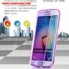 (395-011)เคสมือถือซัมซุง Case Samsung S6 edge เคสนิ่มใสสไตล์ฝาพับรุ่นพิเศษกันกระแทกกันรอยขีดข่วน