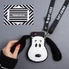 (545-015)เคสมือถือวีโว Vivo V3Max เคสนิ่มหมา snoopy หูผ้านิ่ม