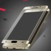 (443-001)ฟิล์มกระจกนิรภัย S6 Edge แบบเต็มหน้าจอ กันรอยขูดขีดกันน้ำกันรอยนิ้วมือ 3D 9H HD 2.5D