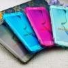 (436-035)เคสมือถือซัมซุง Case Samsung Galaxy S7 Edge เคสนิ่มใสสไตล์ฝาพับ