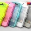 (297-009)เคสมือถือไอโฟน 4/4s Case iPhone ฟลิบใส Soft Jacket-Xpose