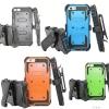 (002-147)เคสมือถือไอโฟน case iphone 6Plus/6S Plus เคสนิ่ม+เกราะพลาสติก+ที่เหน็บเอว สไตล์กันกระทก