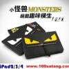 (215-058)เคสไอแพด iPad2/3/4 เคสสไตล์กระเป๋าถือลาย fendi monster