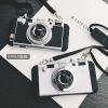 (541-009)เคสมือถือไอโฟน case iphone 5/5s/SE เคสนิ่มชุบแวว 3D สไตล์กล้องถ่ายรูปยอดฮิต