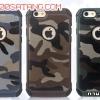 (385-047)เคสมือถือไอโฟน 4/4s Case iPhone เคสนิ่มกรอบหลังพลาสติกแข็งลายพรางกันกระแทก