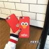 (513-103)เคสมือถือไอโฟน Case iPhone 6Plus/6S Plus เคสนิ่ม Retro Sesame Street